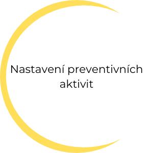 Nastavení preventivních aktivit